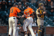 Austin Slater's late homer gives Giants 5-4 win over Padres