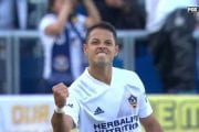 Chicharito scores to give Galaxy the early lead over LAFC