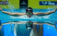 Swimmer Nicole Frank is living out her grandmother's dream