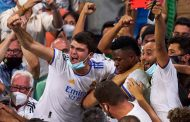 'Everyone went crazy' when Vinicius Jr. scored, leapt into Real Madrid crowd
