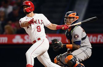 Jack Mayfield goes 2-for-4 with two RBI as Angels edge Astros, 3-2